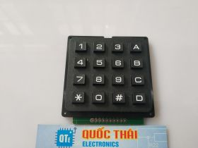 MCU MEMBRANE SWITCH KEYPAD 4X4