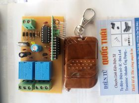 BOARD RF 2 RELAY (12VAC/DC)